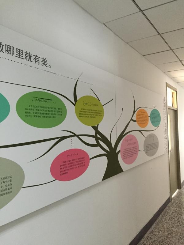 展板内容均由相关学科分支的专家共同商讨拟定,并交由各教研室主任