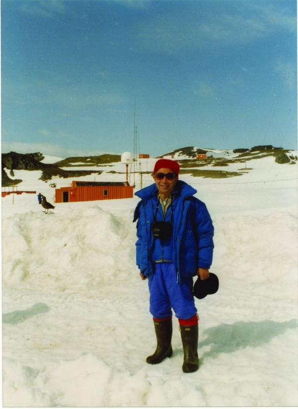 刘老师在南极